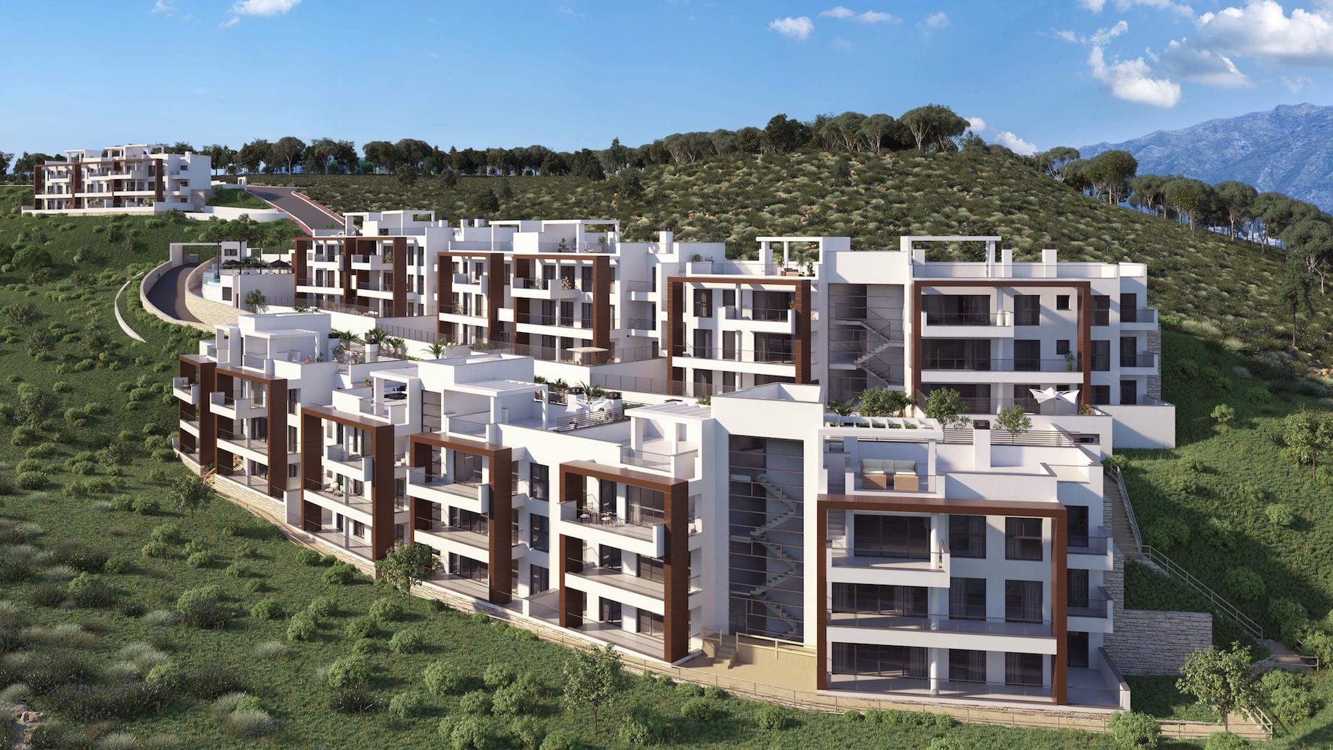 Luxueus nieuwbouwproject omringd door golfterreinen