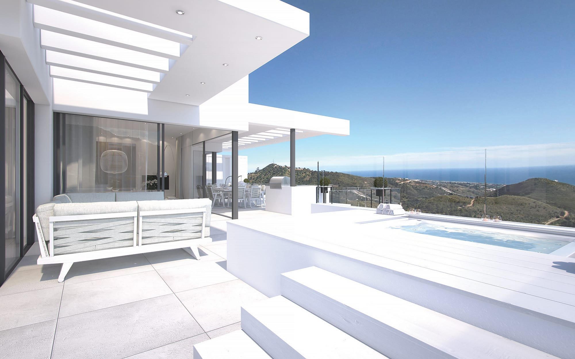 Luxury architectural excellence and natural beauty