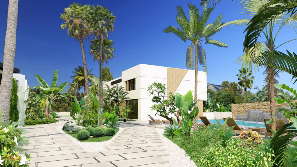 Ideal villas to live permanently or as rental investment