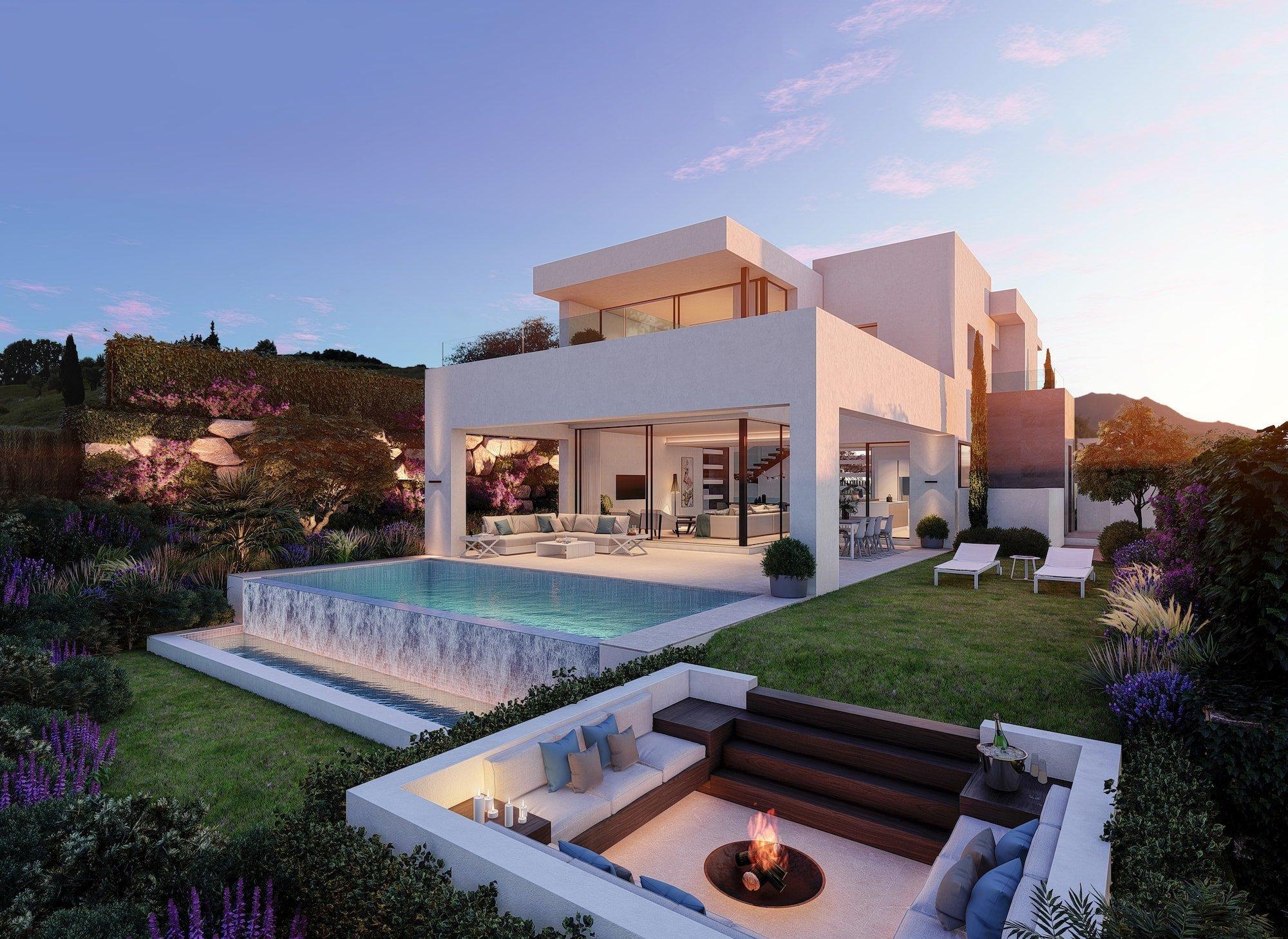 A jewel golf villa at the Costa del Sol