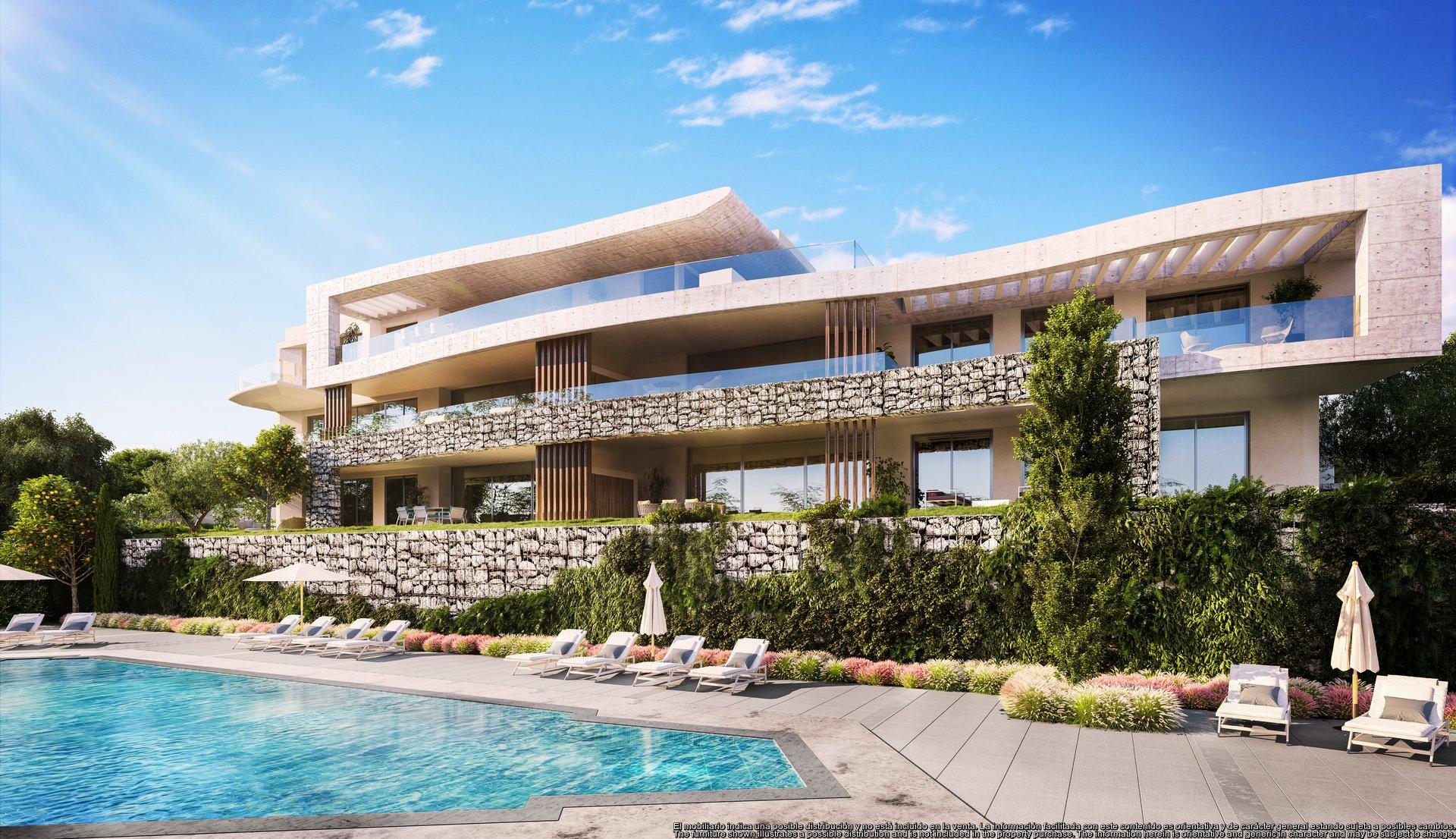Appartements élégants et exclusifs avec 2, 3 et 4 chambres