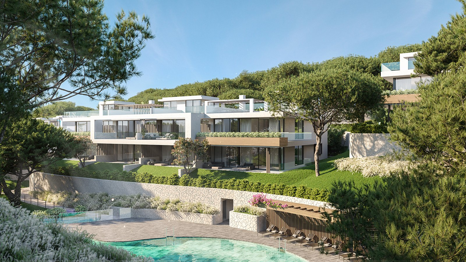 Modieuze appartementen nabij jachthaven Cabopino